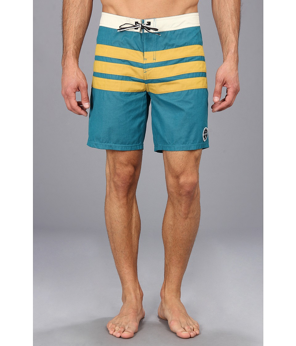 DC - Hamilton Boardshort (Atlantic Depth) Men's Swimwear