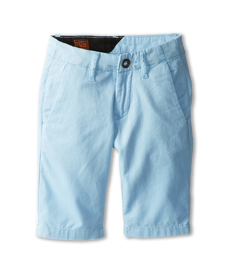 Volcom Kids - Faceted Short (Big Kids) (Blue Bird) Boy's Shorts