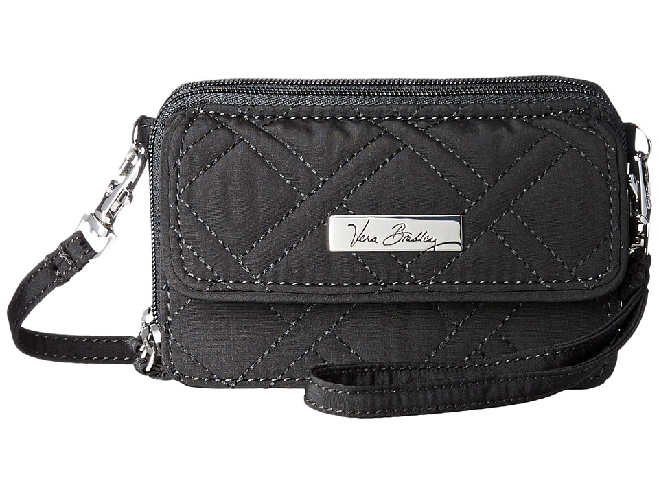 Vera Bradley - All In One Crossbody (Black) Handbags
