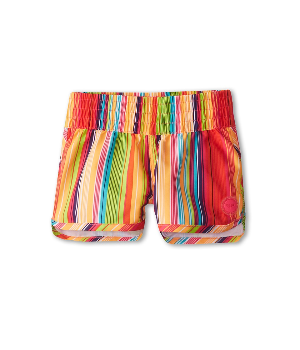 Roxy Kids - Sunny TW Boardshort (Toddler/Little Kids) (Fandango Pink/Sundown) Girl's Swimsuits One Piece