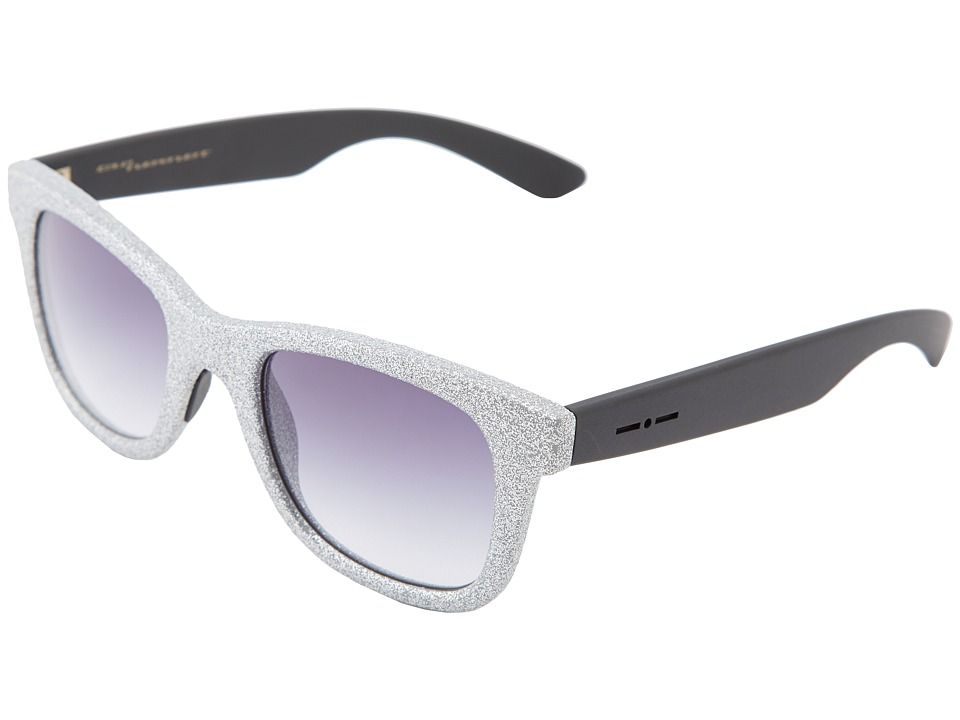 Italia Independent - 0090ST.075.000 (Silver) Fashion Sunglasses
