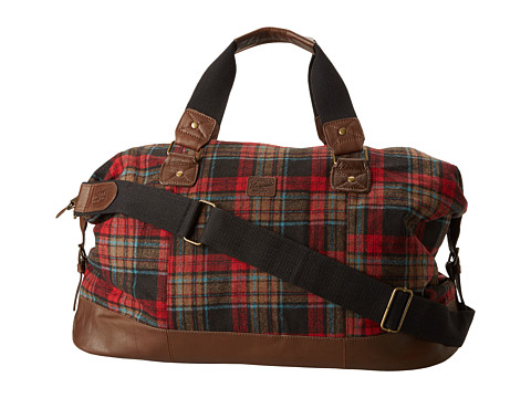 Original Penguin - Canvas Weekend Bag (Red) Handbags