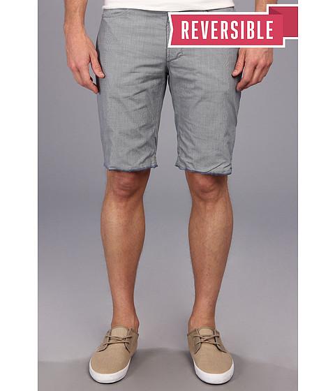 Howe - Hands Down Reversible Mini Check Short (Cerulean) Men