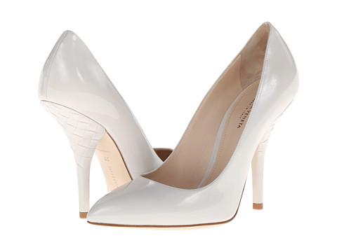 Bottega Veneta - Pump (Mist) Women's Slip-on Dress Shoes