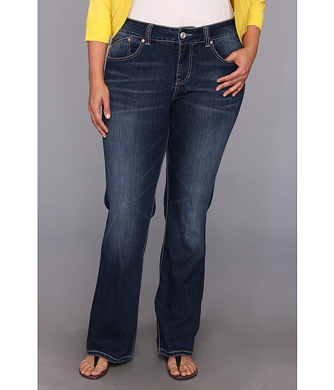 Jag Jeans Plus Size - Plus Size Austin Boot in Pure Indigo (Pure Indigo) Women