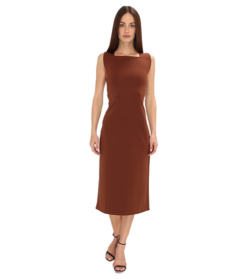 Calvin Klein Collection - Sheath Dress (Henna) Women