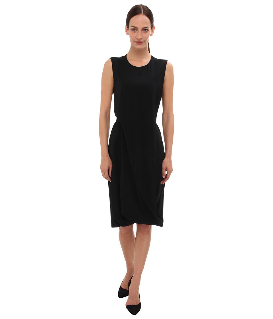 Calvin Klein Collection Sheath Dress (Black) Women