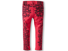 Joe's Jeans Kids Venetian Lace Placement Print Jegging in Raspberry