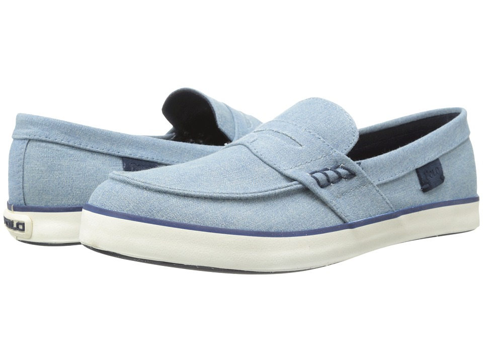 Polo Ralph Lauren - Evan F (Light Blue) Men's Slip on Shoes