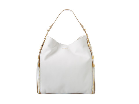 Michael Kors Collection Miranda Shoulder (White) Shoulder Handbags