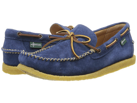 Eastland - Merrimac 1955 Edition Collection (Blue Suede) Men's Slip on Shoes