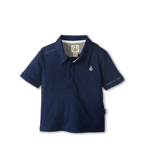 Volcom Kids - Wowzer Polo (Toddler/Little Kids) (Navy Paint) Boy