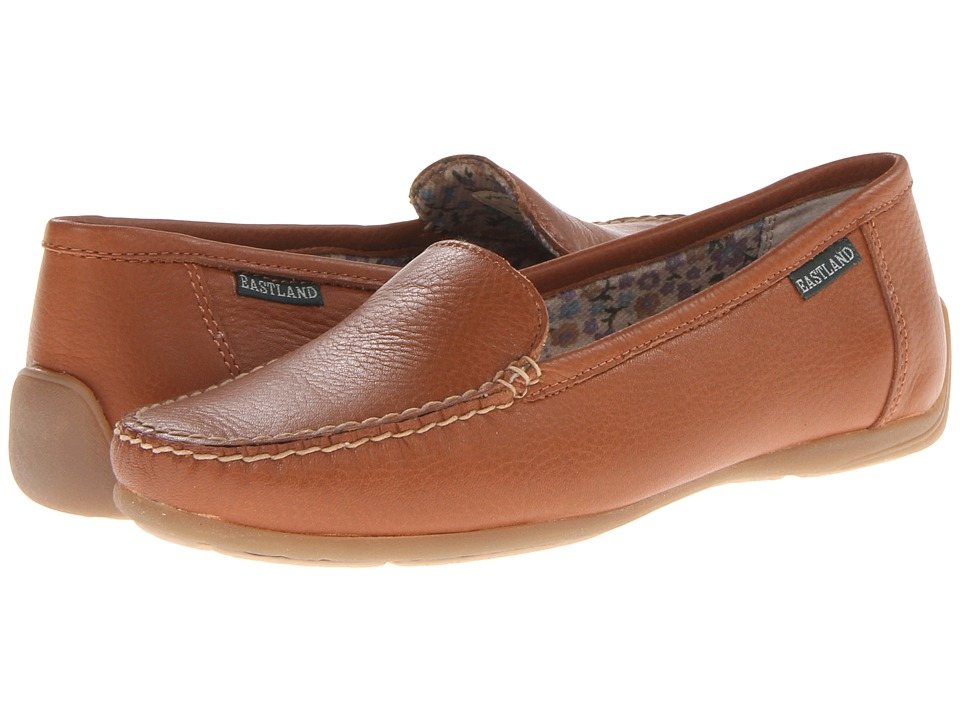 Eastland - Daytona (Tan Leather) Women's Slip on Shoes