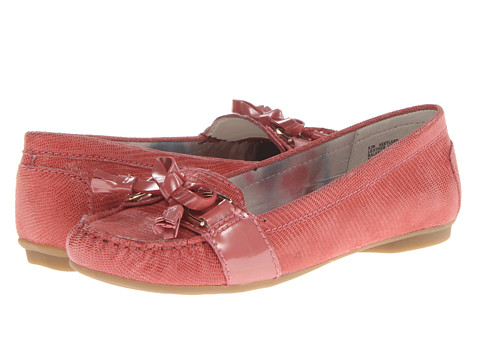 Anne Klein - Kyland (Papaya Mini Lizard) Women's Slip on Shoes