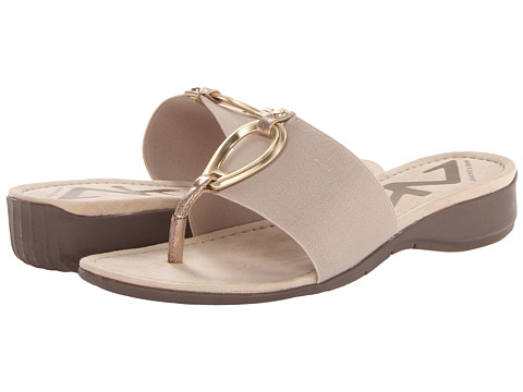 Anne Klein AK Sport - Kirsikka (Natural FB) Women's Dress Sandals