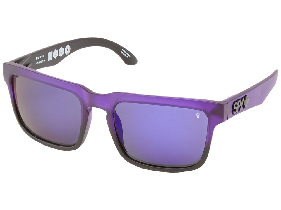 Spy Optic - Helm SGH (Deep Purple/Bronze Polar W/Purple Spectra) Fashion Sunglasses