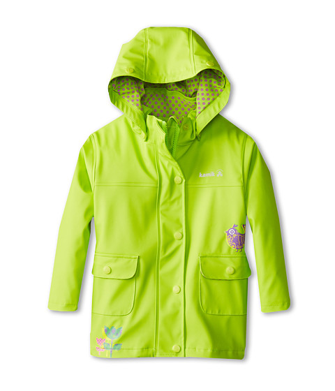 Kamik Kids - Pretty Bird (Toddler/Little Kids) (Lime Green) Girl