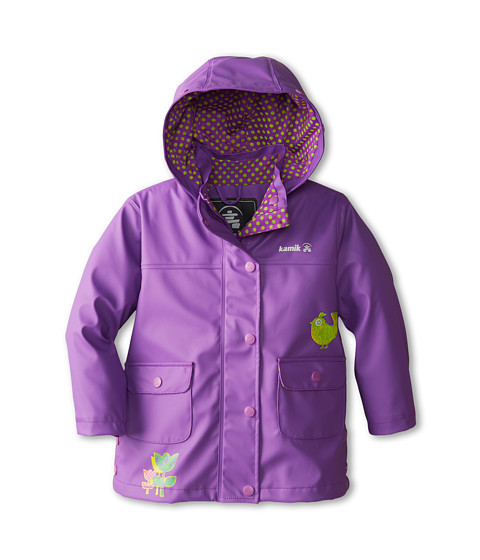 Kamik Kids - Pretty Bird (Toddler/Little Kids) (Dewberry) Girl's Coat