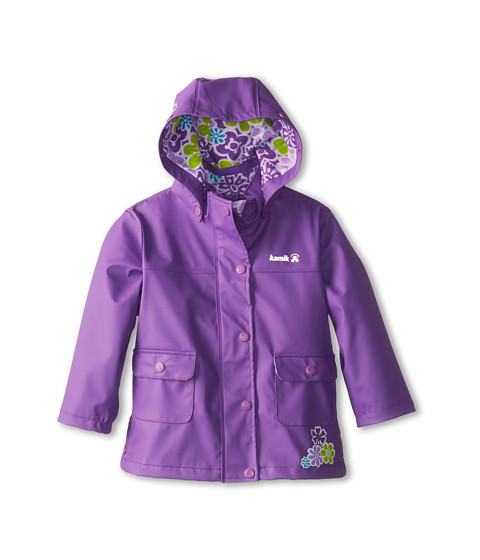 Kamik Kids - Ditsy Flower (Toddler/Little Kids) (Dewberry) Girl's Coat