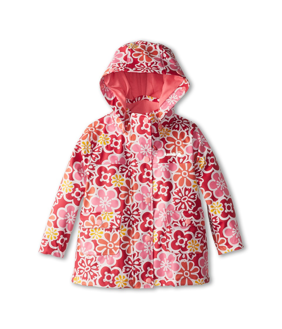 Kamik Kids - Ditsy Flower (Toddler/Little Kids) (Rose Red Aop) Girl