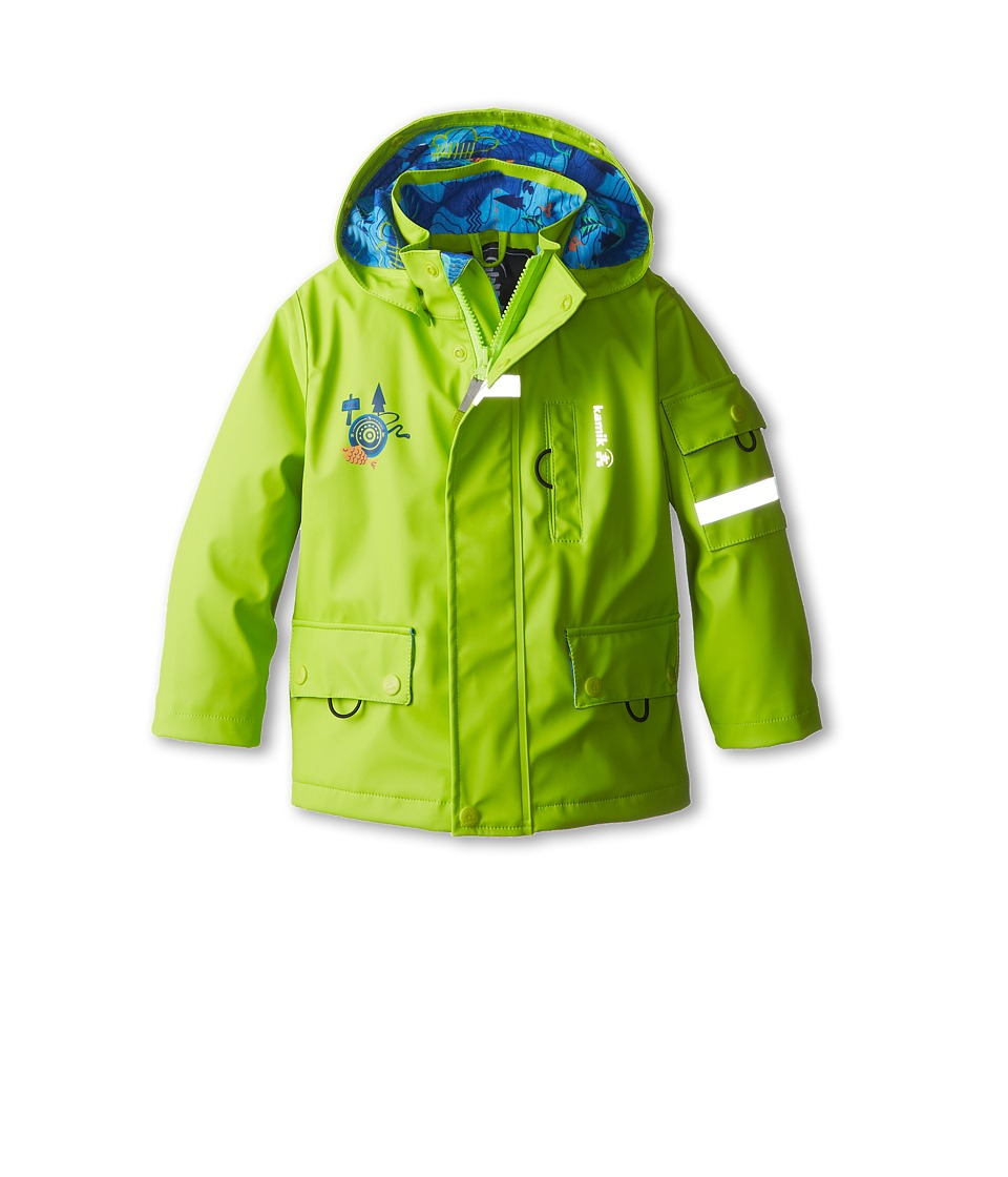 Kamik Kids - Explore (Toddler/Little Kids) (Lime Green) Boy's Coat