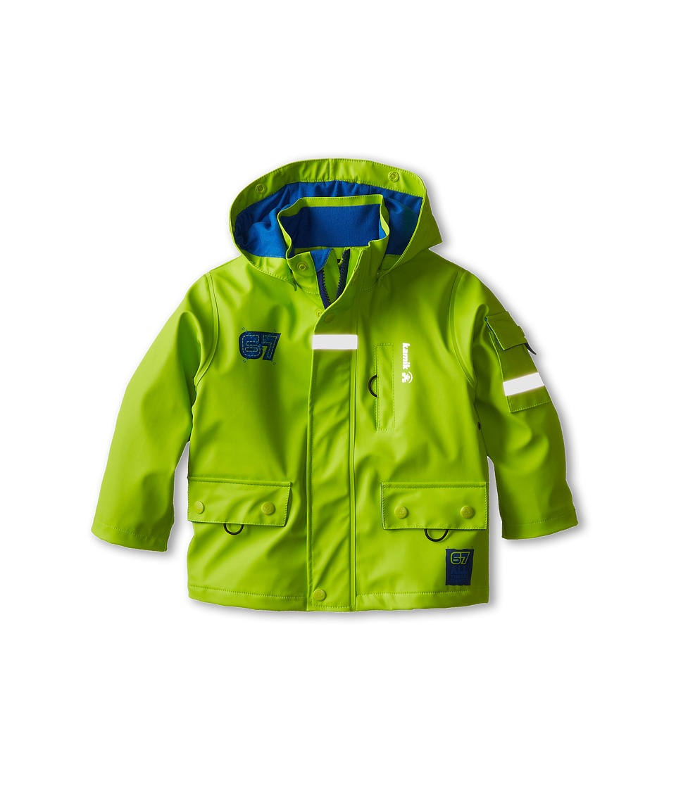 Kamik Kids - Rescue Team 67 (Toddler/Little Kids) (Lime Green) Boy's Coat