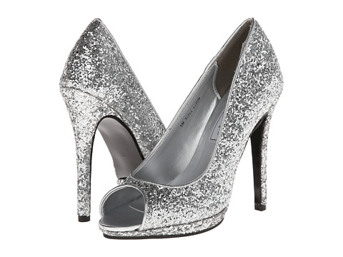 Touch Ups - Tease (Silver Glitter) Women's Shoes