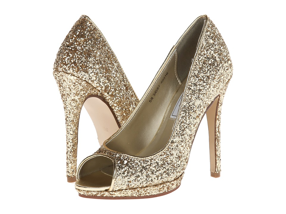 Touch Ups - Tease (Gold Glitter) Women's Shoes