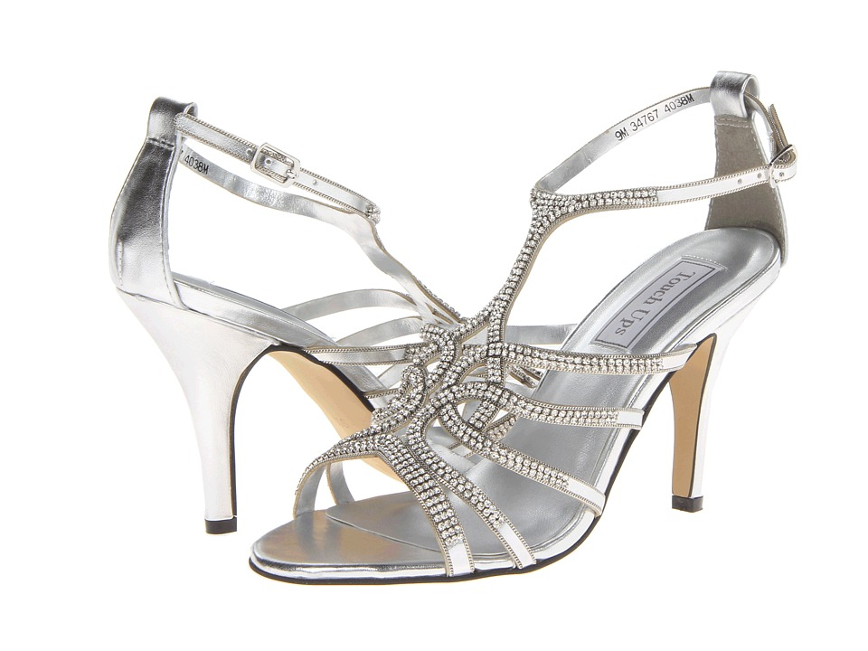 Touch Ups - Sally (Silver Metallic) Women's Dress Sandals