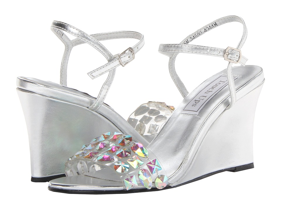 Touch Ups - Norma (Silver Metallic) Women's Wedge Shoes