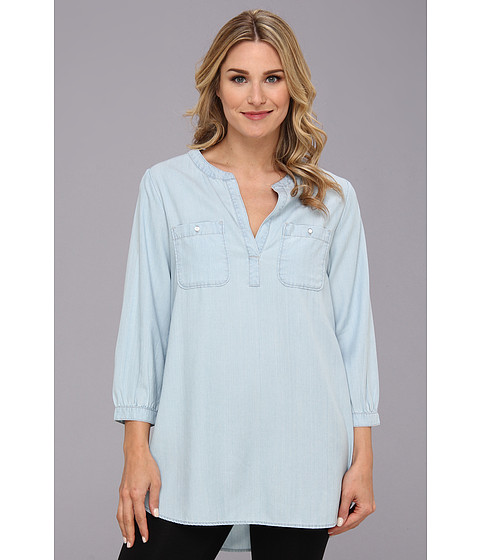 Jag Jeans - Noah Tunic Relaxed Fit (Bleach Wash) Women's Blouse