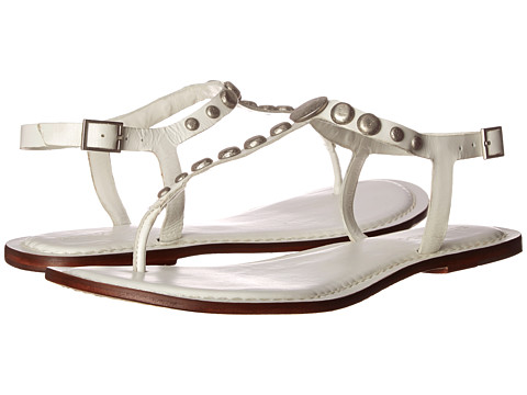 Bernardo - Mojo (White Calf/White Calf) Women's Flat Shoes