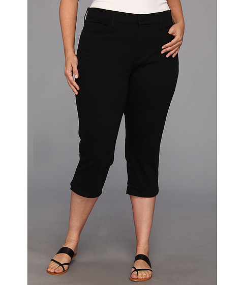 NYDJ Plus Size - Plus Size Hayden Crop (Black) Women