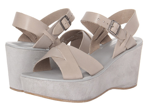 Kork-Ease - Ava (Cinza Buff/Suede) Women's Wedge Shoes