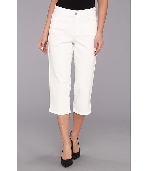 NYDJ - Hayden Crop (Optic White) Women's Jeans