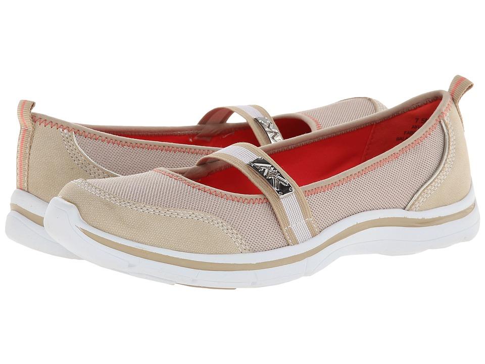 Anne Klein - AK Sport - Loris (Sand/White) Women's Shoes