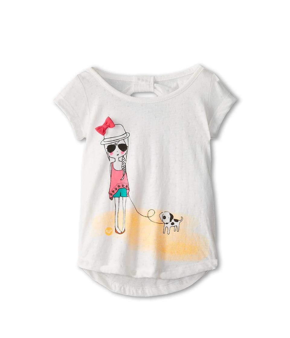 Roxy Kids Warm Day Knit Top Girls T Shirt (Blue)