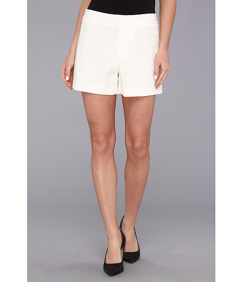 Calvin Klein - Eyelet Short (Birch) Women's Shorts