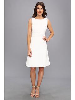 SALE! $91.99 - Save $48 on Calvin Klein Jacquard Dress (Ivory) Apparel - 34.06% OFF $139.50