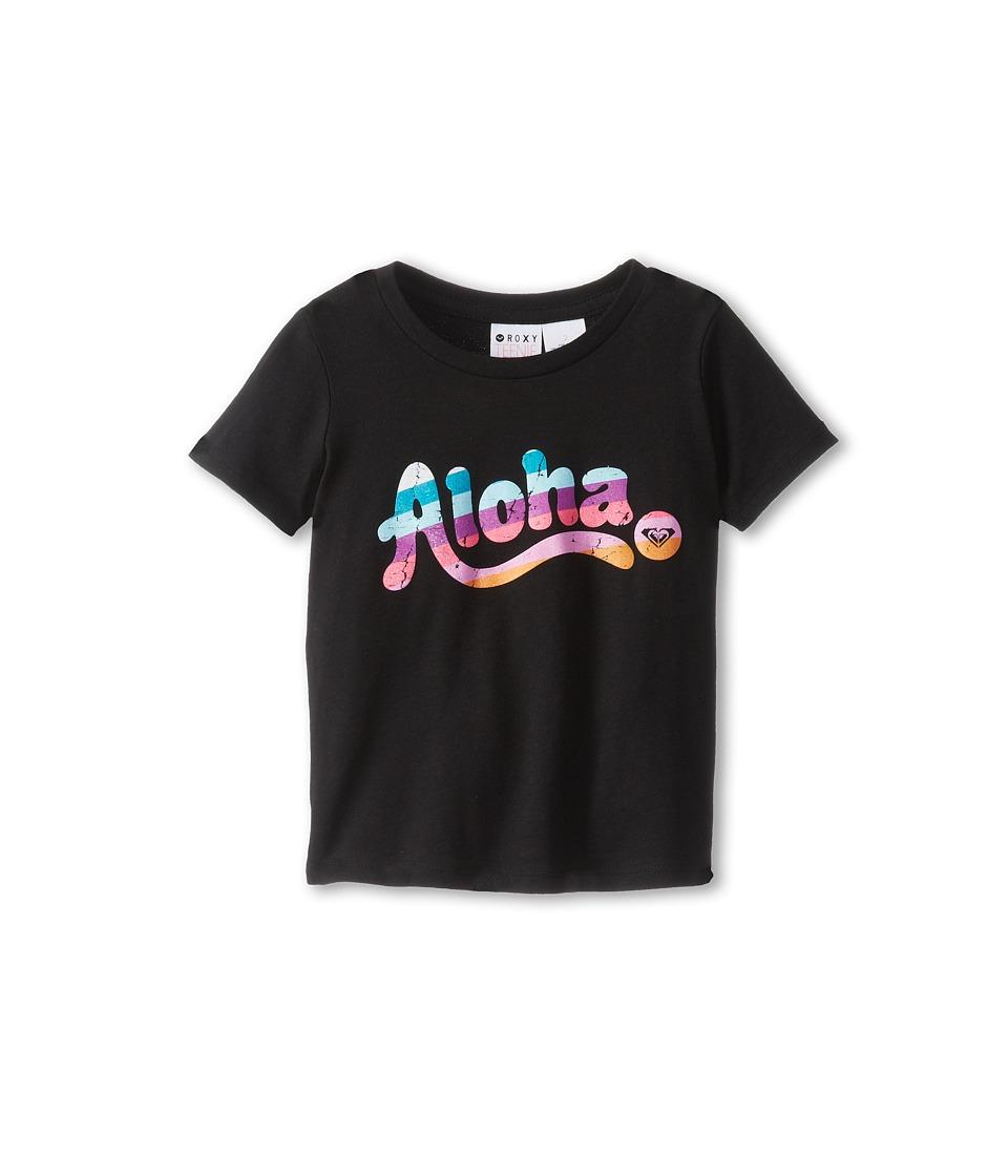 Roxy Kids Aloha H Harmony Tee Girls T Shirt (Black)