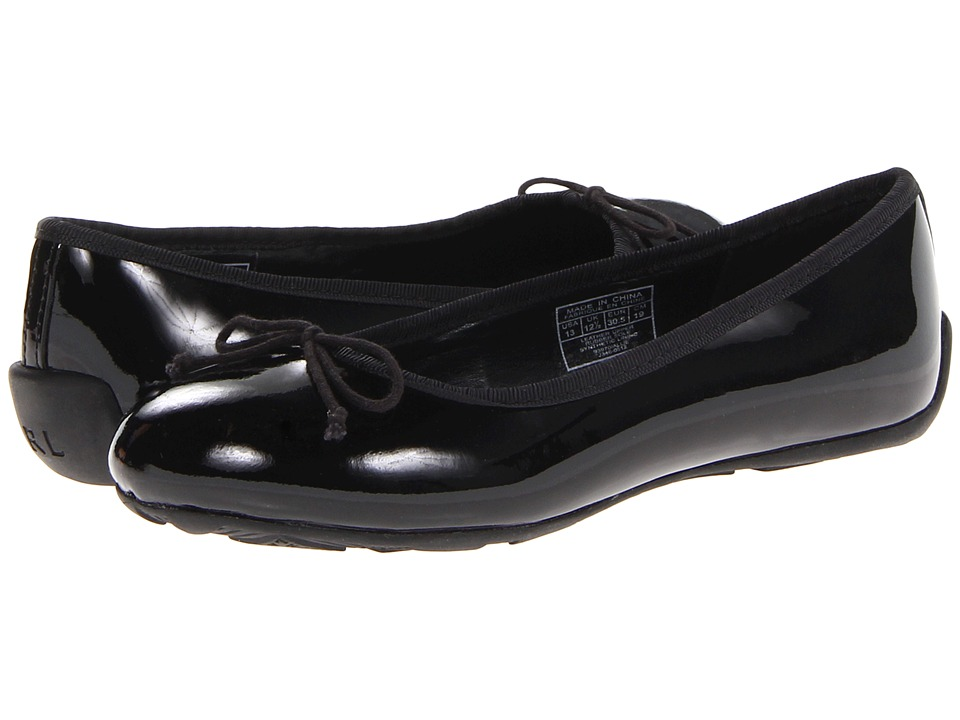 Polo Ralph Lauren Kids - Allie (Little Kid/Big Kid) (Black Patent Leather) Girls Shoes