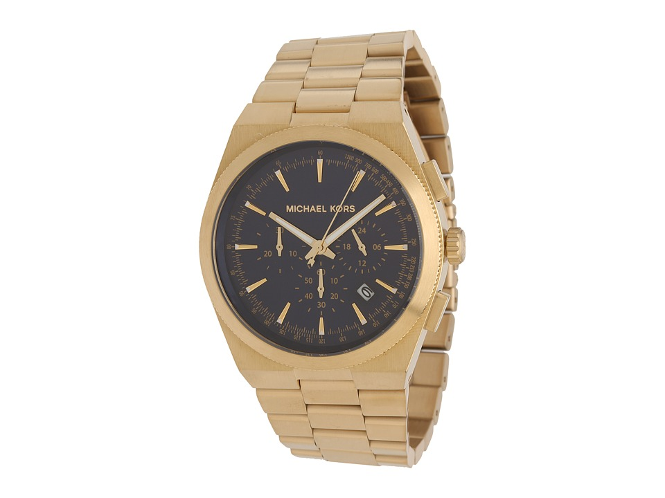 Michael Kors - MK8338 - Channing (Gold/Navy) Chronograph Watches