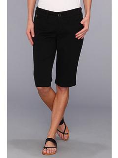 SALE! $21.99 - Save $47 on Jag Jeans Lulu Slim Bermuda Fine Line Twill (Black) Apparel - 68.13% OFF $69.00