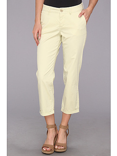 SALE! $34.99 - Save $34 on Jag Jeans Cora Slim Crop Fine Line Twill (Cucumber Slice) Apparel - 49.29% OFF $69.00