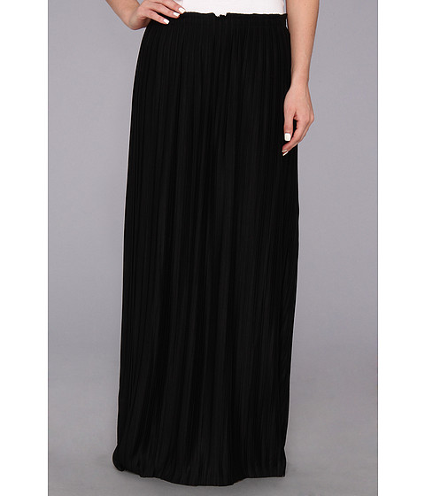 Calvin Klein - Pleated Maxi Skirt M4BGL012 (Black) Women