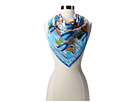 Versace Classic Cars and Cowboys Foulard (Blue)