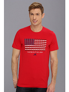 SALE! $19.8 - Save $16 on New Balance Made In USA Flag Tee (Red) Apparel - 45.00% OFF $36.00