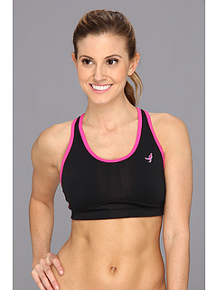 SALE! $17.99 - Save $18 on New Balance Komen Tonic Crop (Black Pink Glo) Apparel - 50.03% OFF $36.00