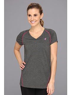SALE! $15.95 - Save $13 on New Balance Short Sleeve Pindot Tee (Pink Glo) Apparel - 45.00% OFF $29.00