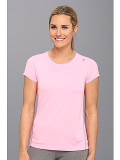 SALE! $12.99 - Save $12 on New Balance Komen Go 2 Short Sleeve Top (Cotton Candy) Apparel - 48.04% OFF $25.00